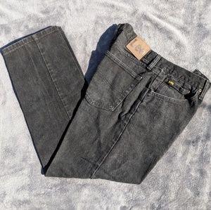 Lee regular fit black jeans